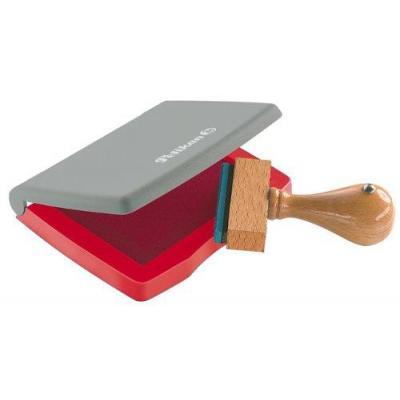 Pelikan stempel inkt: Stempelkussens in plastic doosje - Grijs, Rood