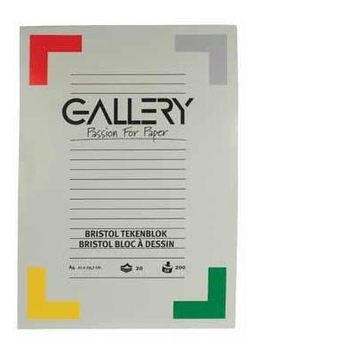 Gallery tekenpapier: TEKENBLOK BRISTOL DIN A4 20BL
