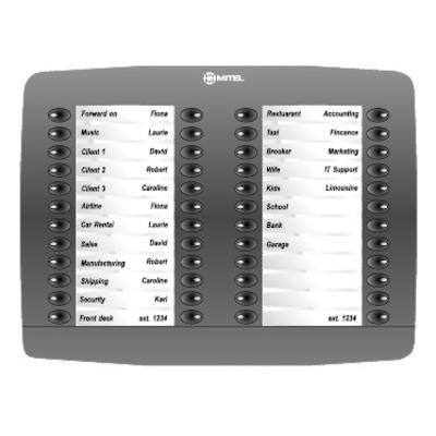 Mitel 5448 PKM Voice network module