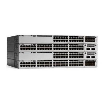 Cisco Catalyst 9300 24-port Gigabit Ethernet PoE+ (445W) modular uplinks Network Essentials Switch - Grijs
