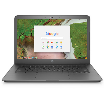 Hp laptop: Chromebook 14 G5 - Zwart