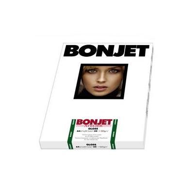 Bonjet 300g/m², 50 sheets, 290µm, A4 Fotopapier