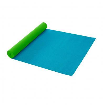 Gaiam fitness, gymnastiek & gewichtstraining: Fitness- / Yogamat - 3 mm - Aqua / Green