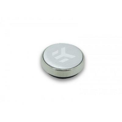 EK Water Blocks EK-CSQ Plug G1/4 (for EK-Badge) - Nickel Cooling accessoire - Zilver