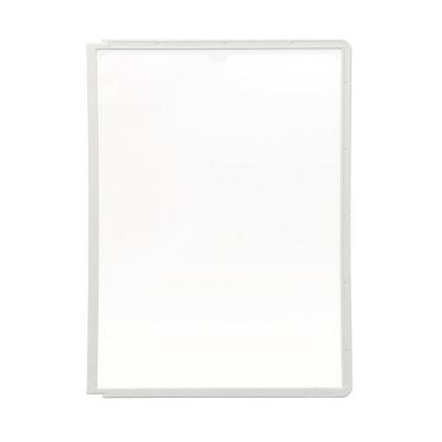Durable : SHERPA Zichtpanelen met profiellijst voor DIN A4 formaat - Grijs
