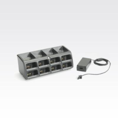 Zebra 8-Slot Battery Charger Kit Oplader - Zwart