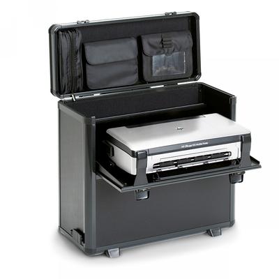 Dicota DataBox XL Trolley HP OJ 200 Etui voor mobiele apparatuur - Zwart