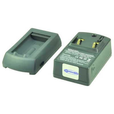 2-Power Universal Digital Camera Battery Charger Oplader