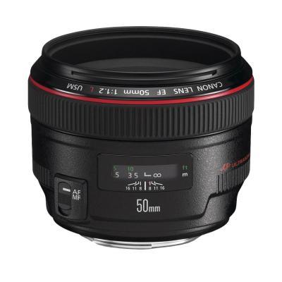 Canon camera lens: EF 50mm f/1.2L USM - Zwart