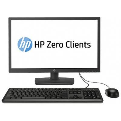 HP thin client: t310 All-in-One Zero Client - Zwart