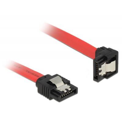 Delock ATA kabel: 0.3m SATA III - Rood