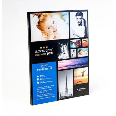 Tetenal fotopapier: SpectraJet Duo Print Paper 130gsm A3 100 sheets