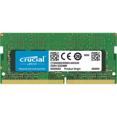 Crucial CT16G4SFD8266 RAM-geheugen - Zwart, Groen
