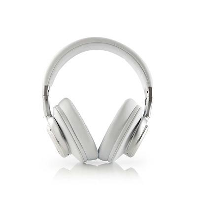 Nedis HPBT5260WT Headset - Wit, Zilver
