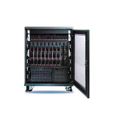 Supermicro OfficeBlade Cabinet 14U Rack - Zwart