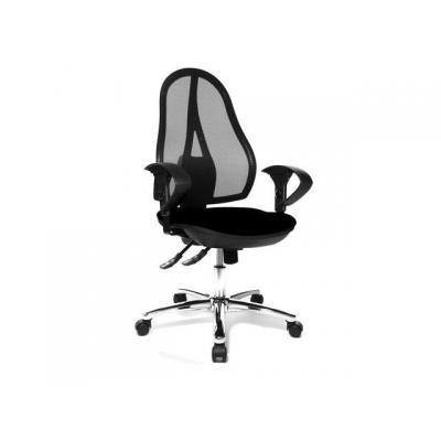 Topstar stoel: Bureaustoel Open Point Syncro zwart
