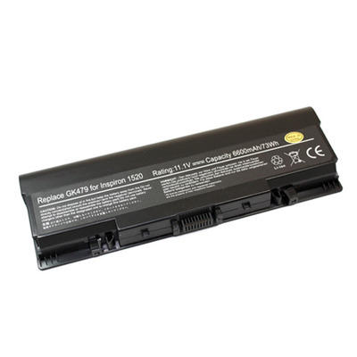 Dell 6-Cell 11.1V 56Wh notebook reserve-onderdeel - Zwart