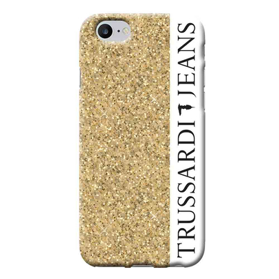 Area TRU7GLITTERG Mobile phone case - Zwart,Goud,Wit