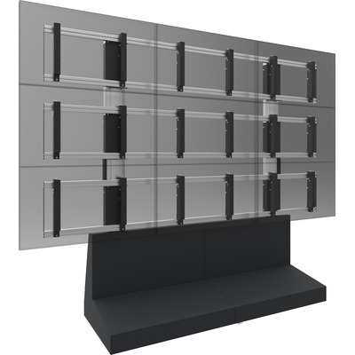 SmartMetals VideoWall 6 Monitorarm - Zwart, Grijs