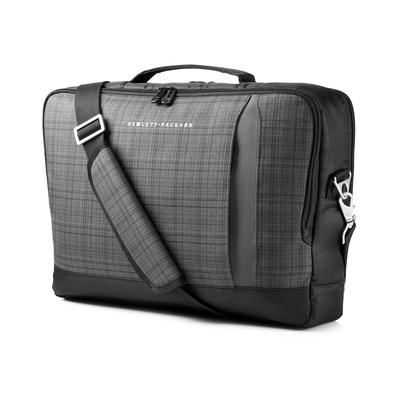 HP Slim Ultrabook Top Load Laptoptas - Zwart, Grijs