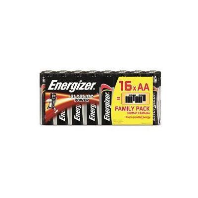 Energizer batterij: Alkaline Power AA Batteries, 16 Pack