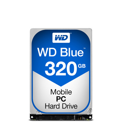 "Western Digital WD Blue 320GB 5400rpm 2,5"" SATA Interne harde schijf"