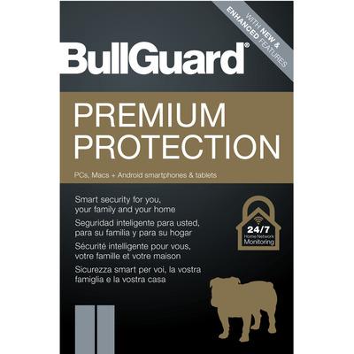 BullGuard Premium Protection Software licentie