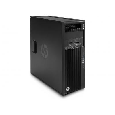HP Z 440 MT - Intel Xeon E5 - 256GB Turbo DriveIe SSD Pc - Zwart - Demo model