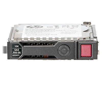 Hewlett packard enterprise interne harde schijf: 300GB 6G SAS SFF - Zwart