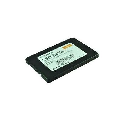 "2-power SSD: 240GB SSD 2.5"", SATA III, 6Gbps + 9.5mm adapter - Zwart, Wit"