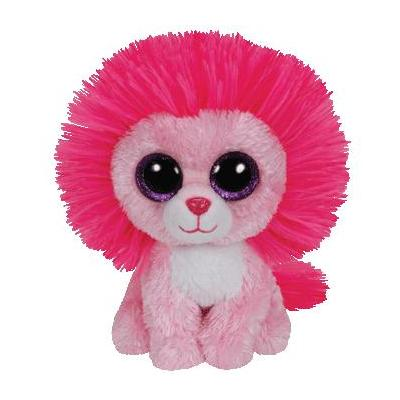 Ty stuffed toy: Fluffy - Roze, Rood
