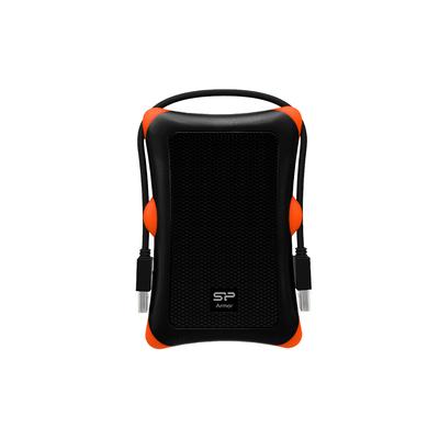Silicon Power Armor A30 Behuizing - Zwart, Oranje