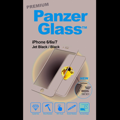 PanzerGlass Apple iPhone 6/6s/7/8 Curved Edges Screen protector - Transparant