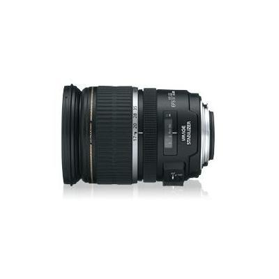 Canon camera lens: EF-S 17-55 f/2.8 IS USM - Zwart