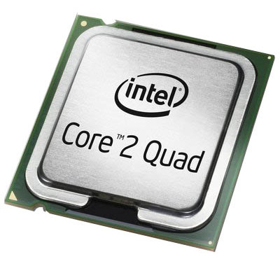 Hp processor: Intel Core 2 Quad Q6600