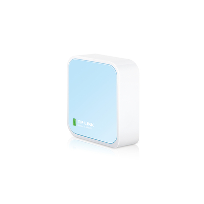 TP-LINK 300Mbps Wireless N Nano Router Wireless router - Blauw,Wit