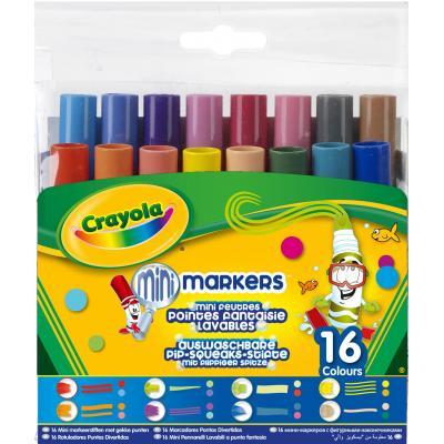 Crayola verf stift: 16 Viltstiften Pipsqueaks met fantasiepunten - Veelkleurig