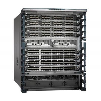 Cisco Nexus 7700 Switches 10-Slot Chassis, including fan trays, no power supply spare netwerkchassis - Grijs