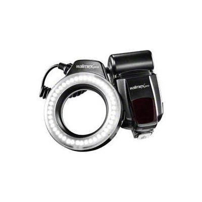 Walimex verlichtingsring: pro Macro LED Ring Light - Zwart, Wit