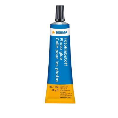Herma lijm: Lijm Tube 35 g - Zwart, Blauw, Geel