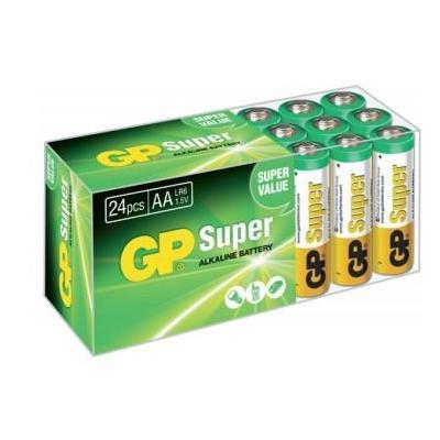 Gp batteries batterij: Super Alkaline 03015AB24 - Groen, Oranje, Wit