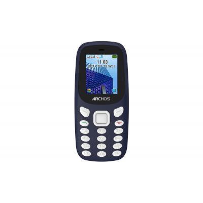 Archos mobiele telefoon: Core 18F - Zwart, Blauw, Alphanumeric keypad
