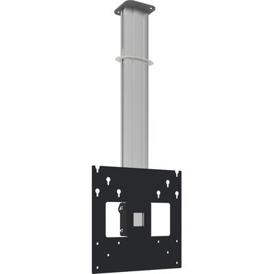 SmartMetals Plafondbeugel 1.5 meter (light serie) incl. bracket VESA 400 Montagehaak - Aluminium,Grijs