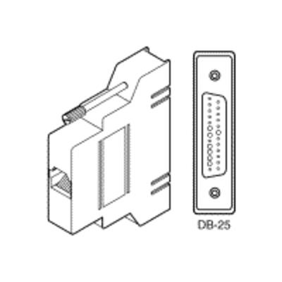 Cisco Catalyst 2500 Modem Kabel male DB-25 Kabel adapter - Grijs