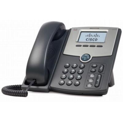 Cisco IP telefoon: SPA512G - Zwart, Zilver
