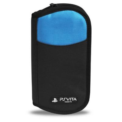 4gamers portable game console case: Travel Case - Zwart, Blauw