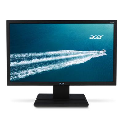 Acer monitor: V6 V206HQLAb - Zwart