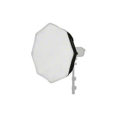 Walimex softbox: Octagon Softbox Ø60cm Electra small - Zwart, Zilver, Wit