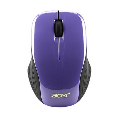 Acer NP.MCE1A.00G Computermuis - Zwart, Violet
