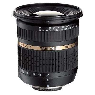 Tamron camera lens: SP AF10-24mm F/3.5-4.5 Di II LD Aspherical [IF] - Zwart